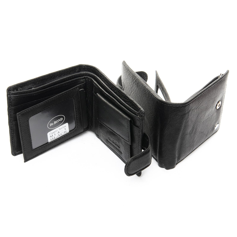Кошелек Classic кожа DR. BOND RFID M14-1 black - фото 4