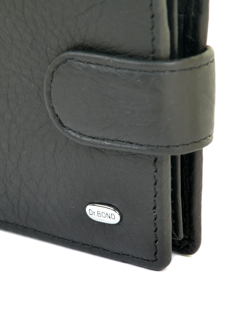 Кошелек Classik кожа DR. BOND RFID M14 black