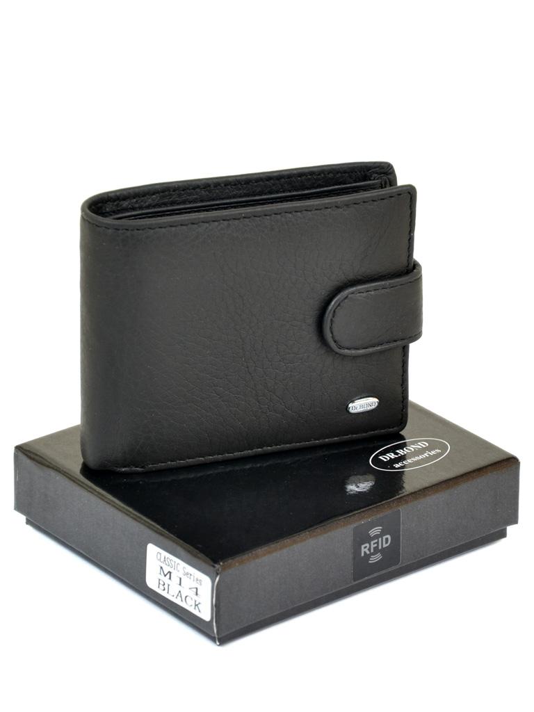 Кошелек Classik кожа DR. BOND RFID M14 black