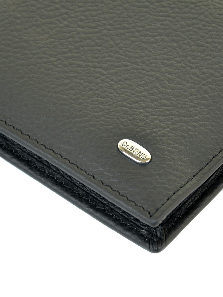 Кошелек Classik кожа DR. BOND RFID MZS-3 black - фото 3
