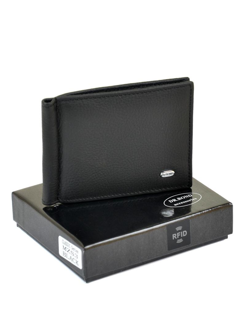 Кошелек Classik кожа DR. BOND RFID MZS-3 black