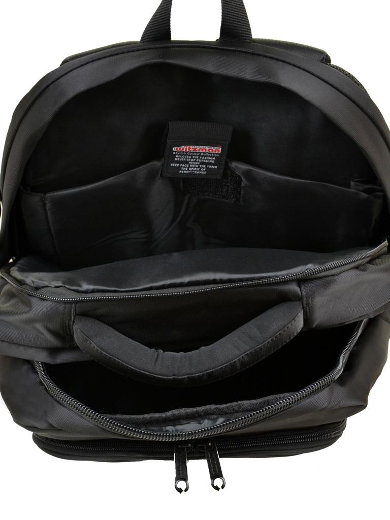 Рюкзак Городской нейлон Witzman 6628 black