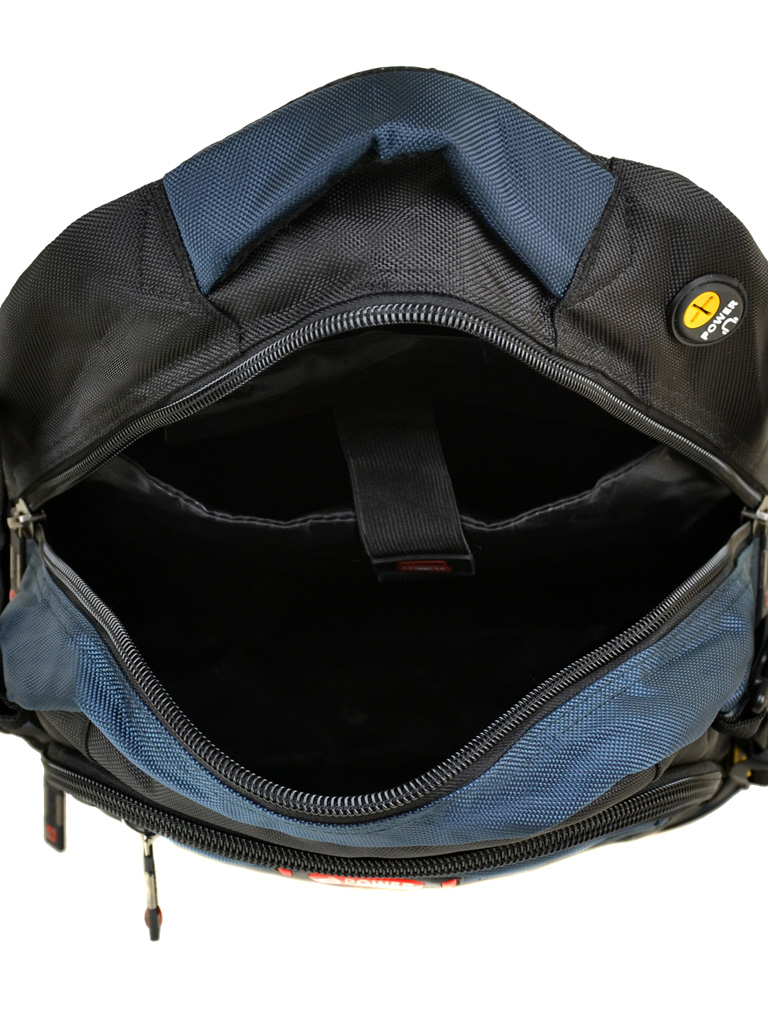 Рюкзак Городской нейлон Power In Eavas 9607 black-blue