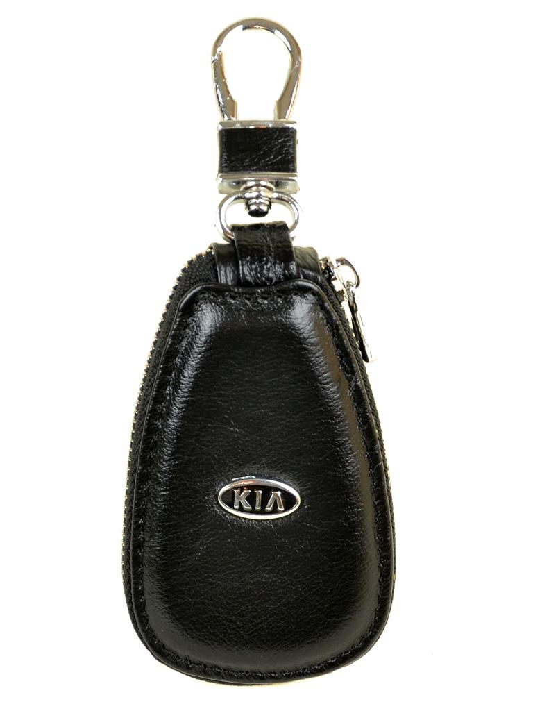 Кошелек Ключница Авто кожа F633 Kia black