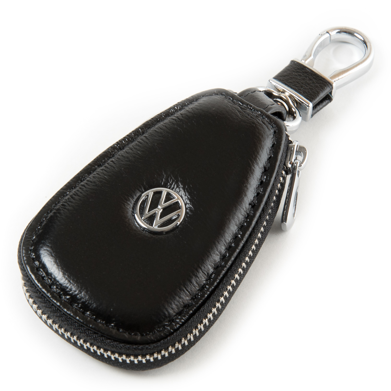 Автоключница кожа F633 Volkswagen black