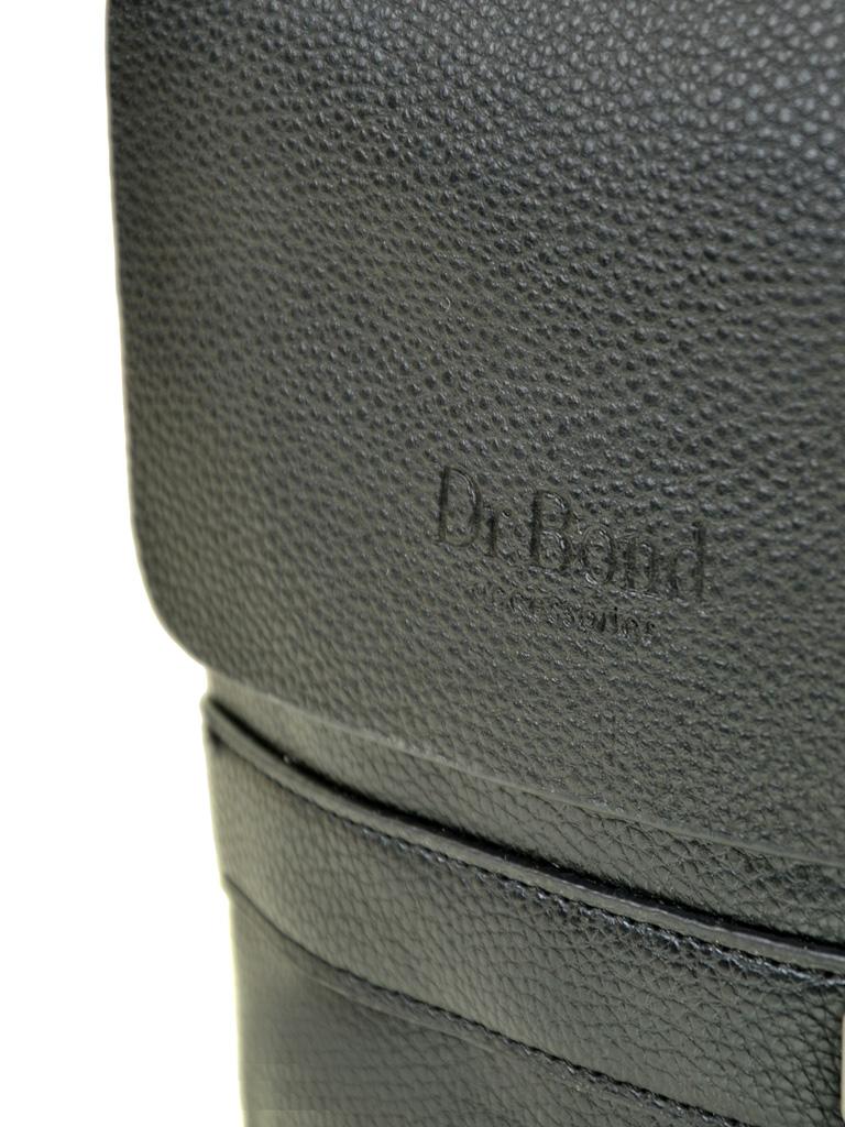 Сумка Мужская Планшет иск-кожа DR. BOND 512-2 black - фото 3