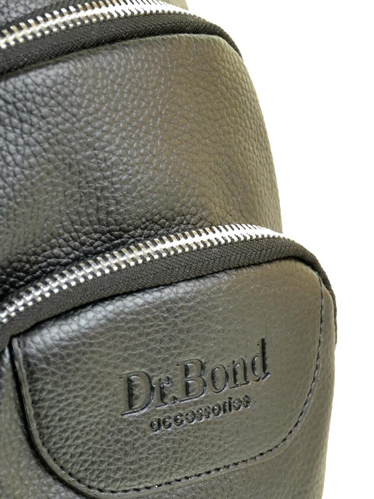 Сумка Мужская На Плечо иск-кожа DR. BOND 1102 black - фото 3