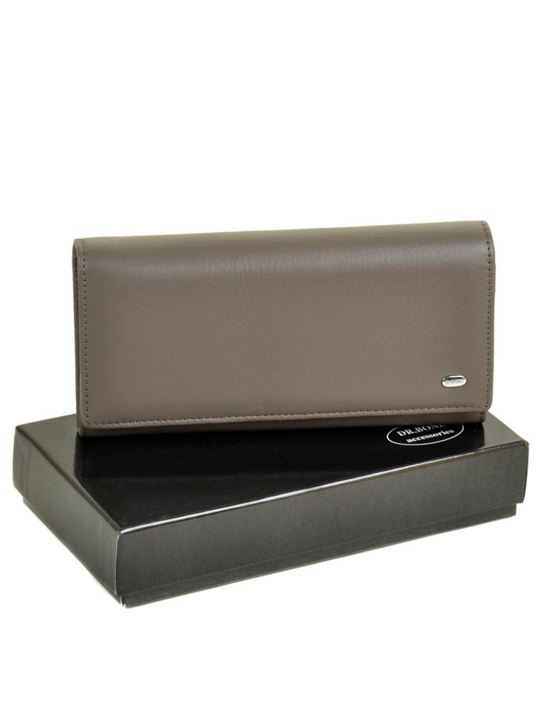Кошелек Classic кожа DR. BOND W501 grey