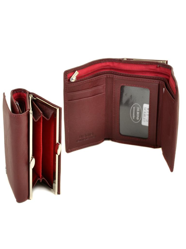 Кошелек Classik кожа DR. BOND W11-2 scarlet