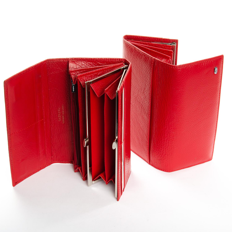 Кошелек Classic кожа DR. BOND W1-V-2 red - фото 4