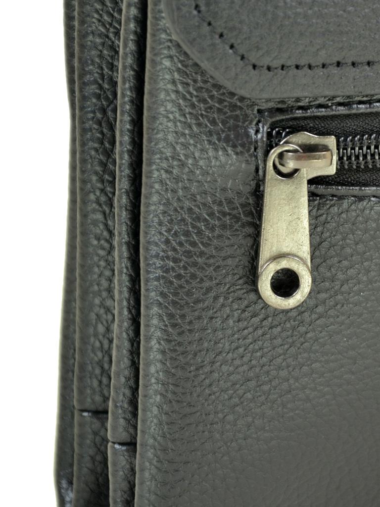 Сумка Мужская Планшет иск-кожа DR. BOND 213-2 black - фото 3