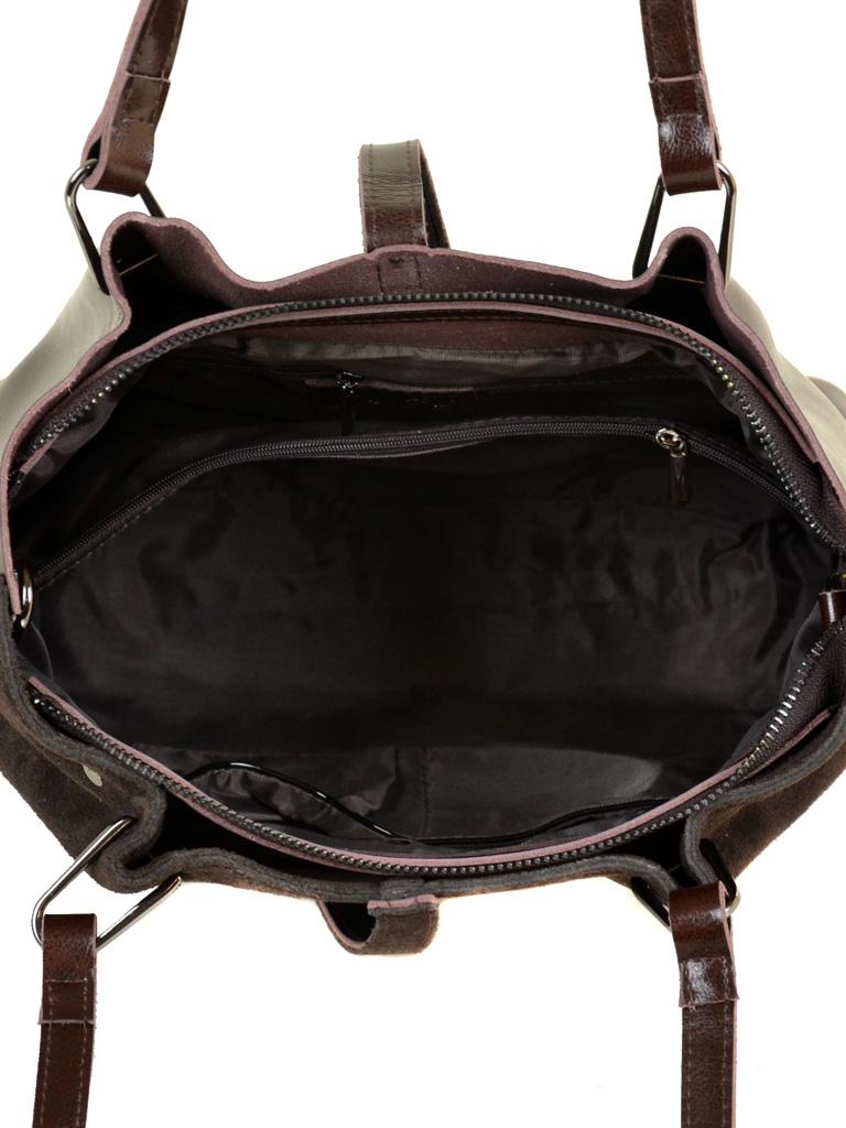 Сумка Женская Классическая кожа-замш ALEX RAI 10-01 317-1 brown