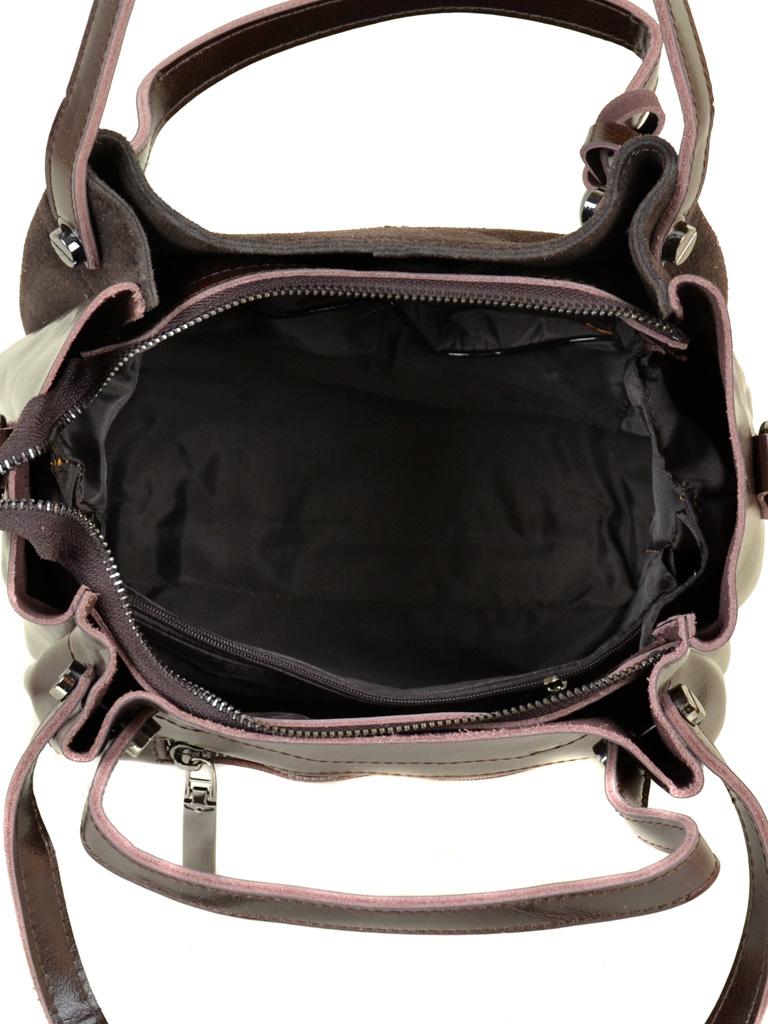 Сумка Женская Классическая кожа-замш ALEX RAI 10-01 322-1 brown - фото 5