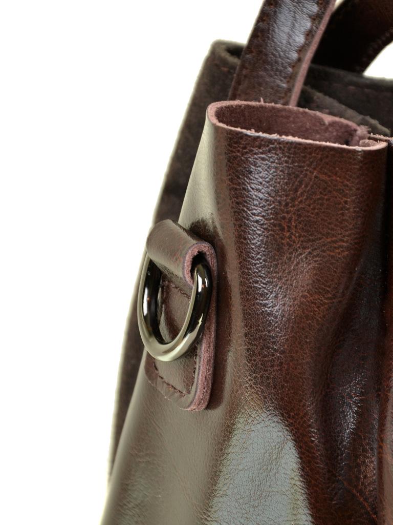 Сумка Женская Классическая кожа-замш ALEX RAI 10-01 322-1 brown - фото 4