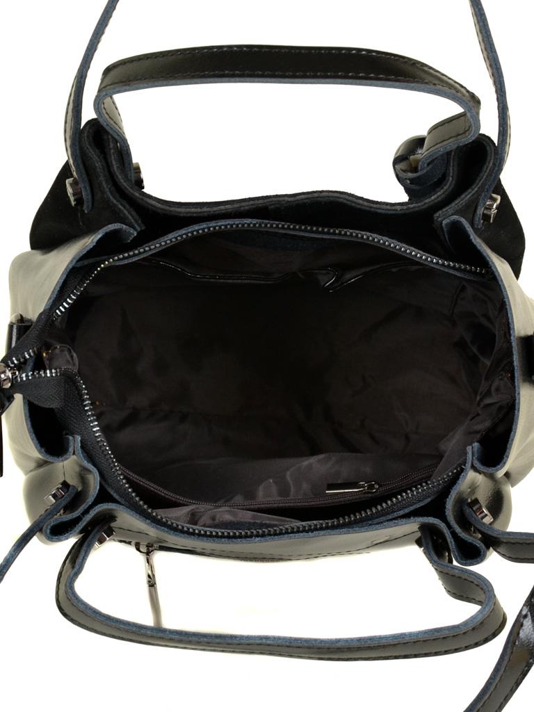 Сумка Женская Классическая кожа-замш ALEX RAI 10-01 322-1 black