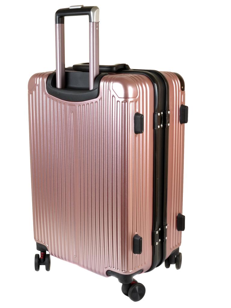 Дорожная Чемодан 21 ABS-пластик 05 pink замок