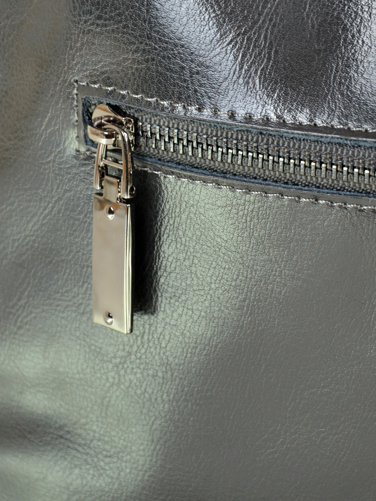Сумка Женская Классическая кожа-замш ALEX RAI 10-01 317-1 grey - фото 4