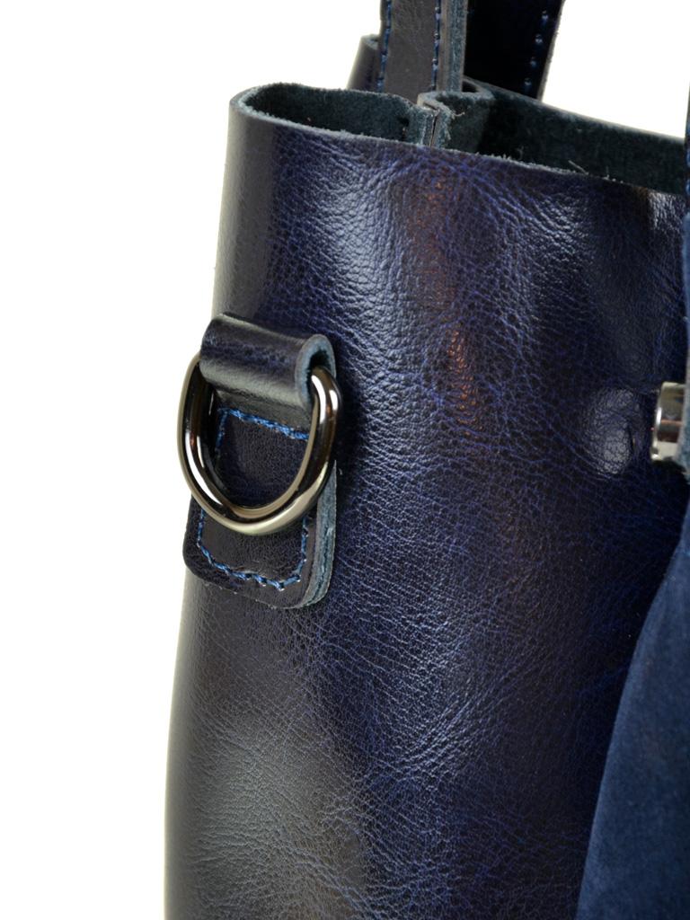 Сумка Женская Классическая кожа-замш ALEX RAI 10-01 322-1 blue