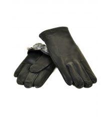 Перчатка Мужская кожа M22/17-1 мод3 black махра