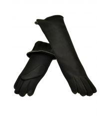 Перчатка Женская стрейч F16/2/17 мод2 black длинная сенсор