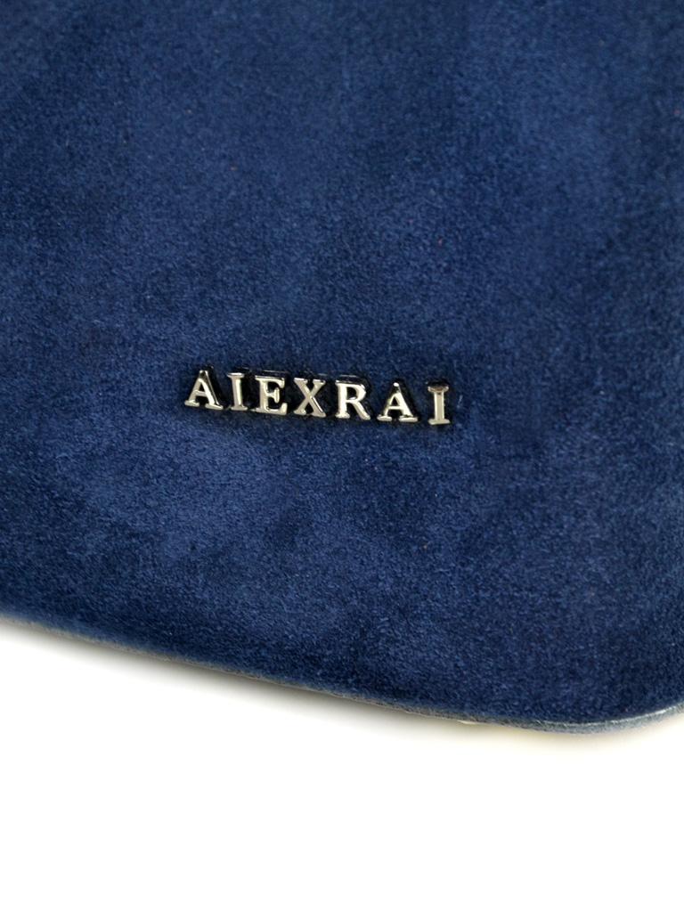 Сумка Женская Классическая кожа-замш ALEX RAI 10-01 317-1 blue