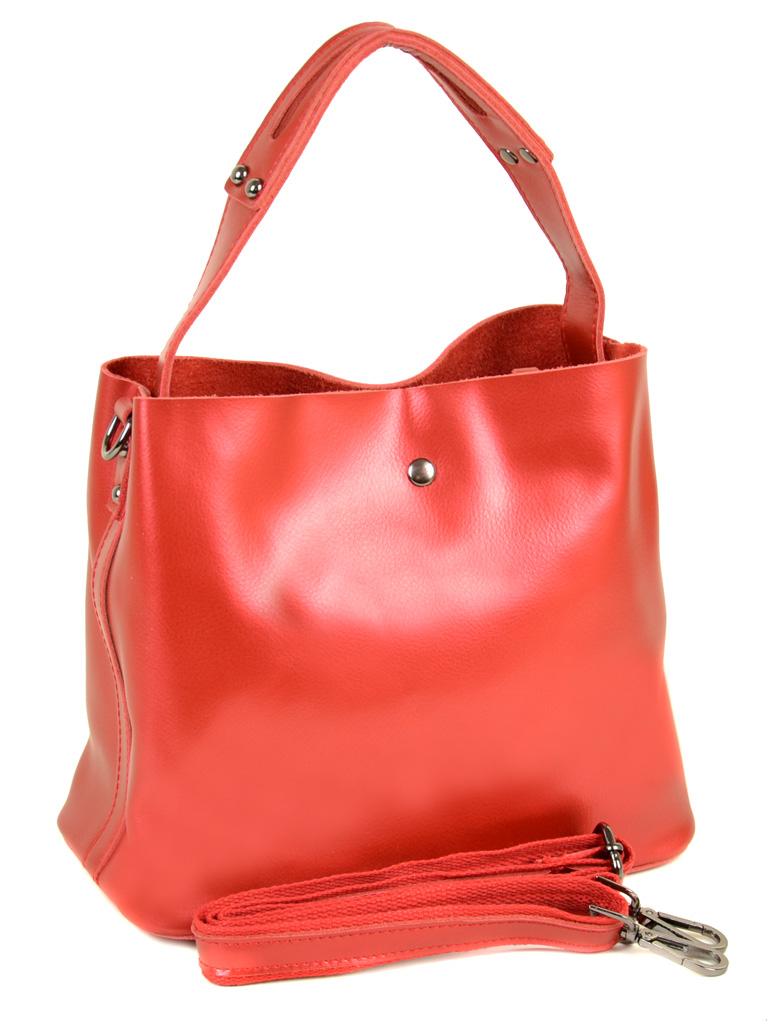 Сумка Женская Классическая кожа ALEX RAI 10-03 8641 special-red
