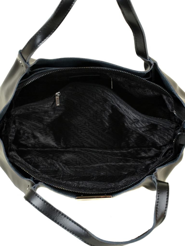 Сумка Женская Классическая кожа ALEX RAI 10-03 8622 black - фото 5
