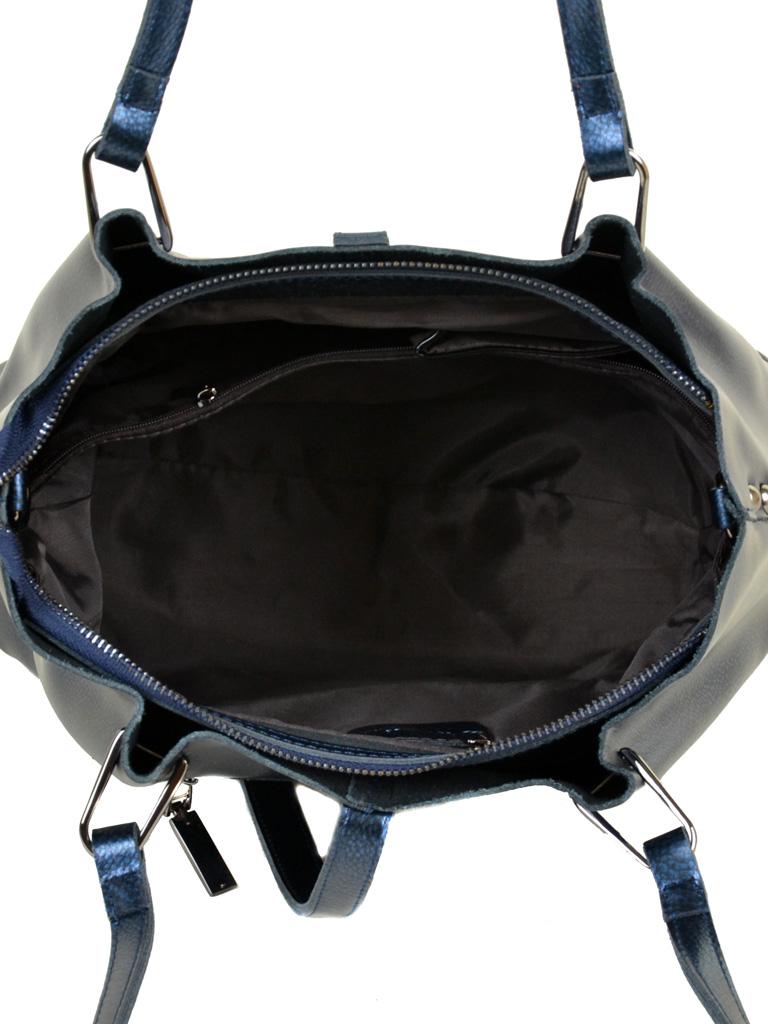 Сумка Женская Классическая кожа ALEX RAI 10-03 317 chromatic-blue - фото 5