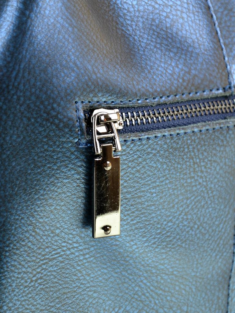 Сумка Женская Классическая кожа ALEX RAI 10-03 317 chromatic-blue - фото 4