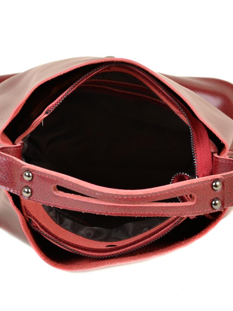 Сумка Женская Классическая кожа ALEX RAI 10-03 8641 red - фото 5