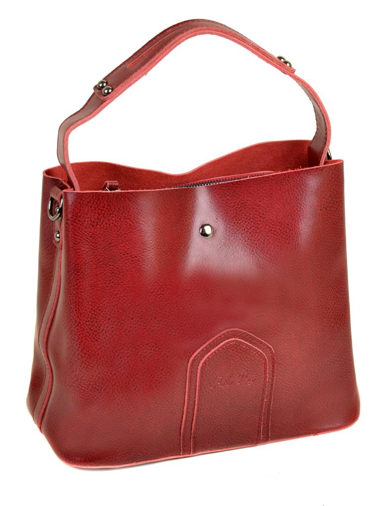 Сумка Женская Классическая кожа ALEX RAI 10-03 8641 red