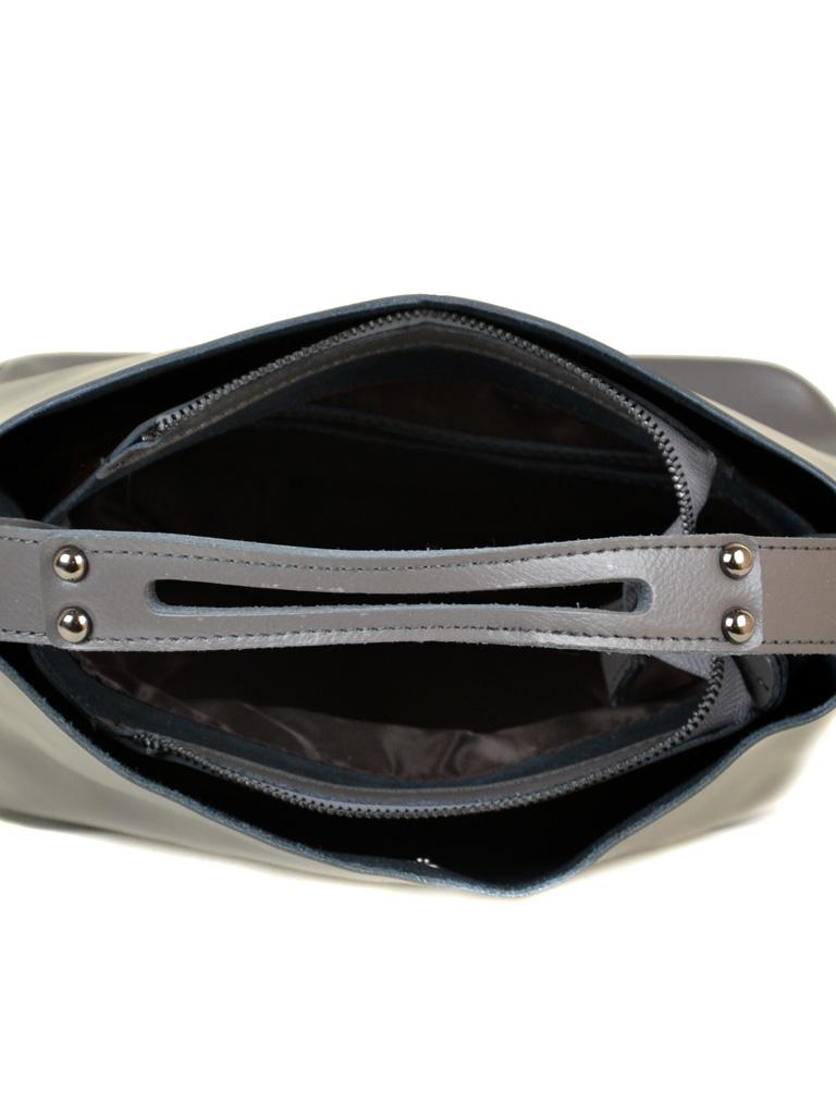 Сумка Женская Классическая кожа ALEX RAI 10-03 8641 grey