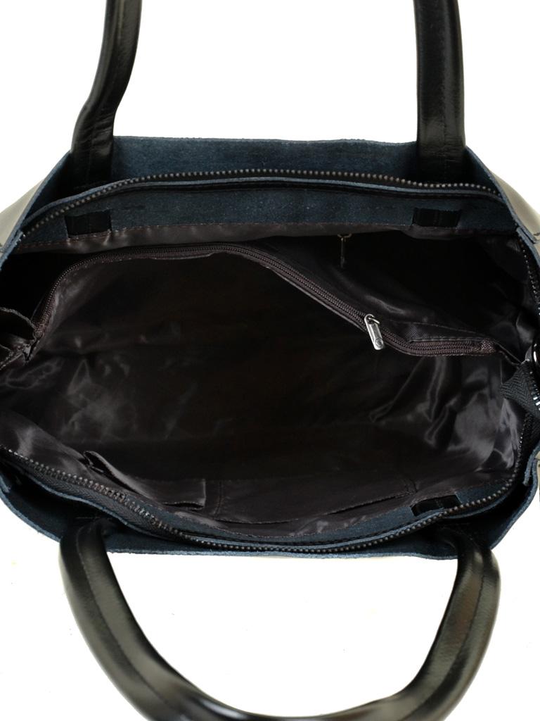 Сумка Женская Классическая кожа ALEX RAI 10-03 J003 black - фото 5