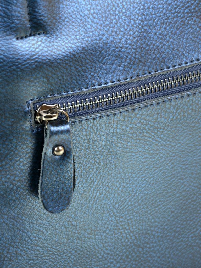 Сумка Женская Классическая кожа ALEX RAI 10-03 J003 pearl-blue