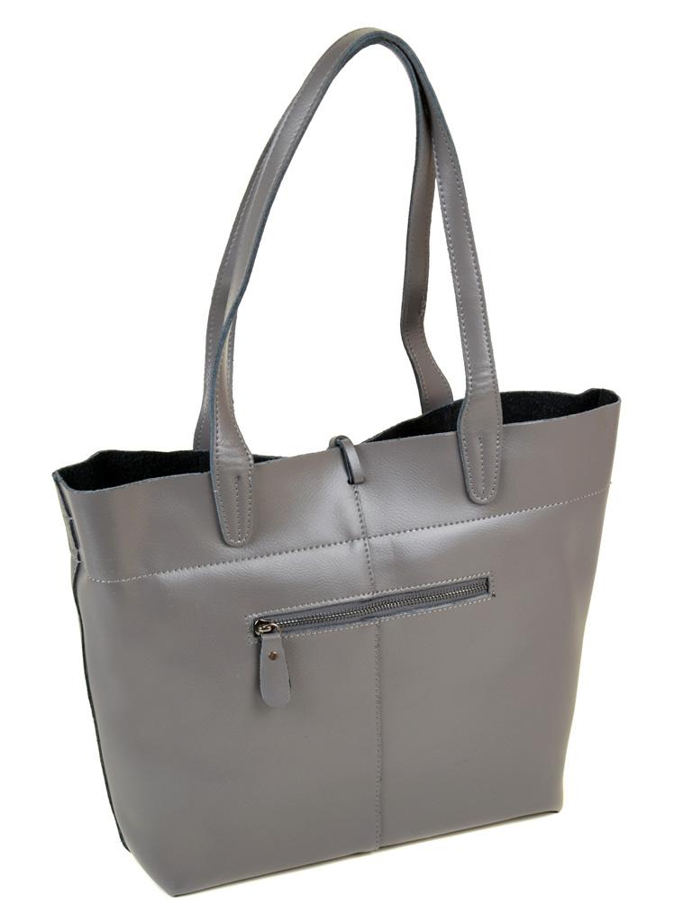 Сумка Женская Классическая кожа ALEX RAI 10-03 J002 grey
