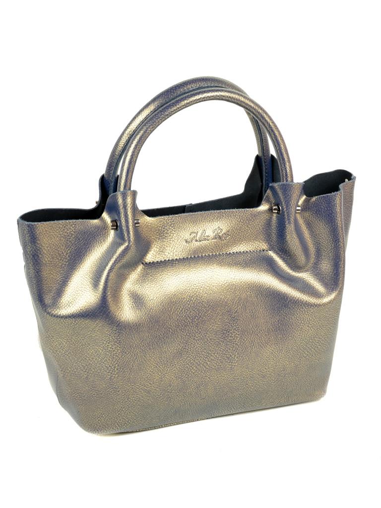 Сумка Женская Классическая кожа ALEX RAI 10-03 8649-2 perlite-grey-gold