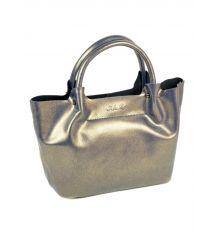 Сумка Женская Классическая кожа ALEX RAI 10-03 8649-2 perlite-grey-gold Распродажа