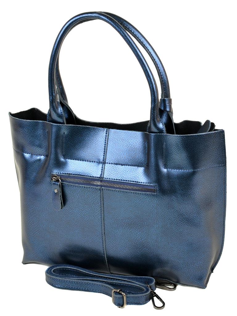 Сумка Женская Классическая кожа ALEX RAI 10-03 8546 blue - фото 3
