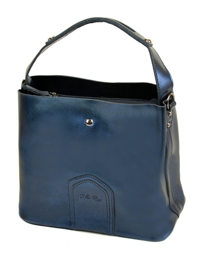 Сумка Женская Классическая кожа ALEX RAI 10-03 8641 bright-blue