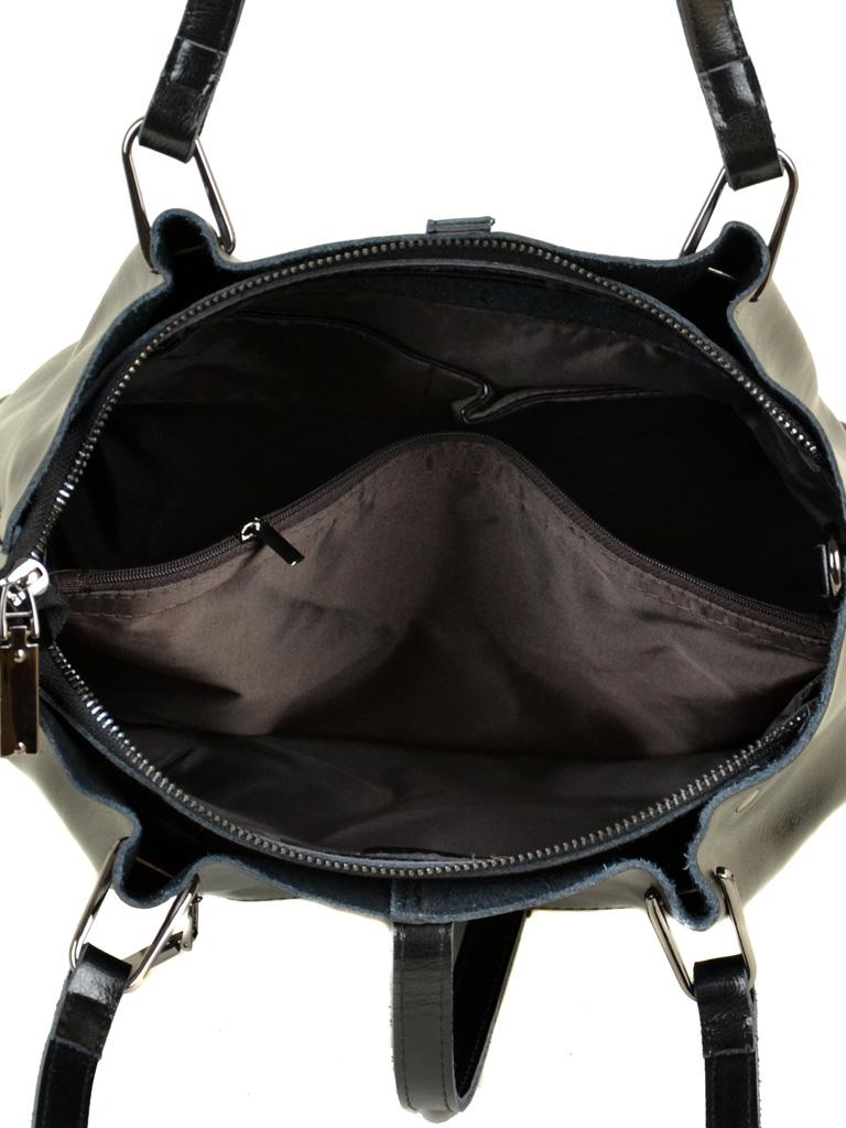 Сумка Женская Классическая кожа ALEX RAI 10-03 317 black - фото 5