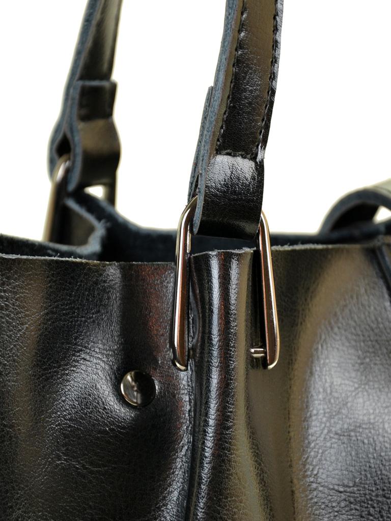 Сумка Женская Классическая кожа ALEX RAI 10-03 317 black - фото 3