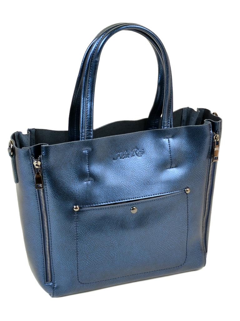 Сумка Женская Классическая кожа ALEX RAI 10-03 8650 blue