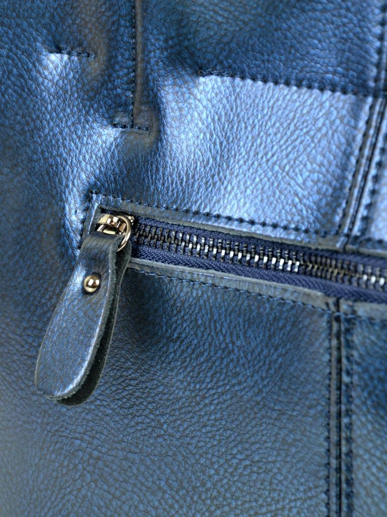 Сумка Женская Классическая кожа ALEX RAI 10-04 8630 blue - фото 4