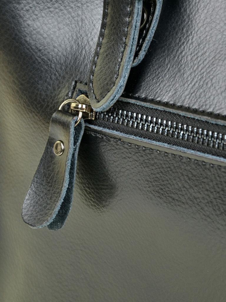 Сумка Женская Классическая кожа ALEX RAI 10-04 8223 black - фото 4