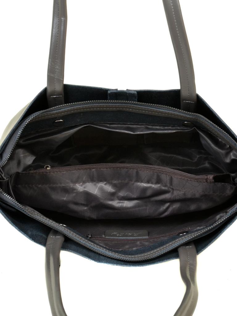 Сумка Женская Классическая кожа ALEX RAI 10-04 8704 grey