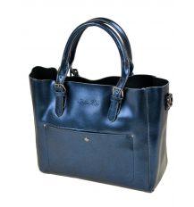 Сумка Женская Классическая кожа ALEX RAI 10-04 8223 blue