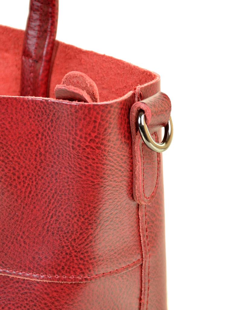 Сумка Женская Классическая кожа ALEX RAI 10-04 8704 wine-red