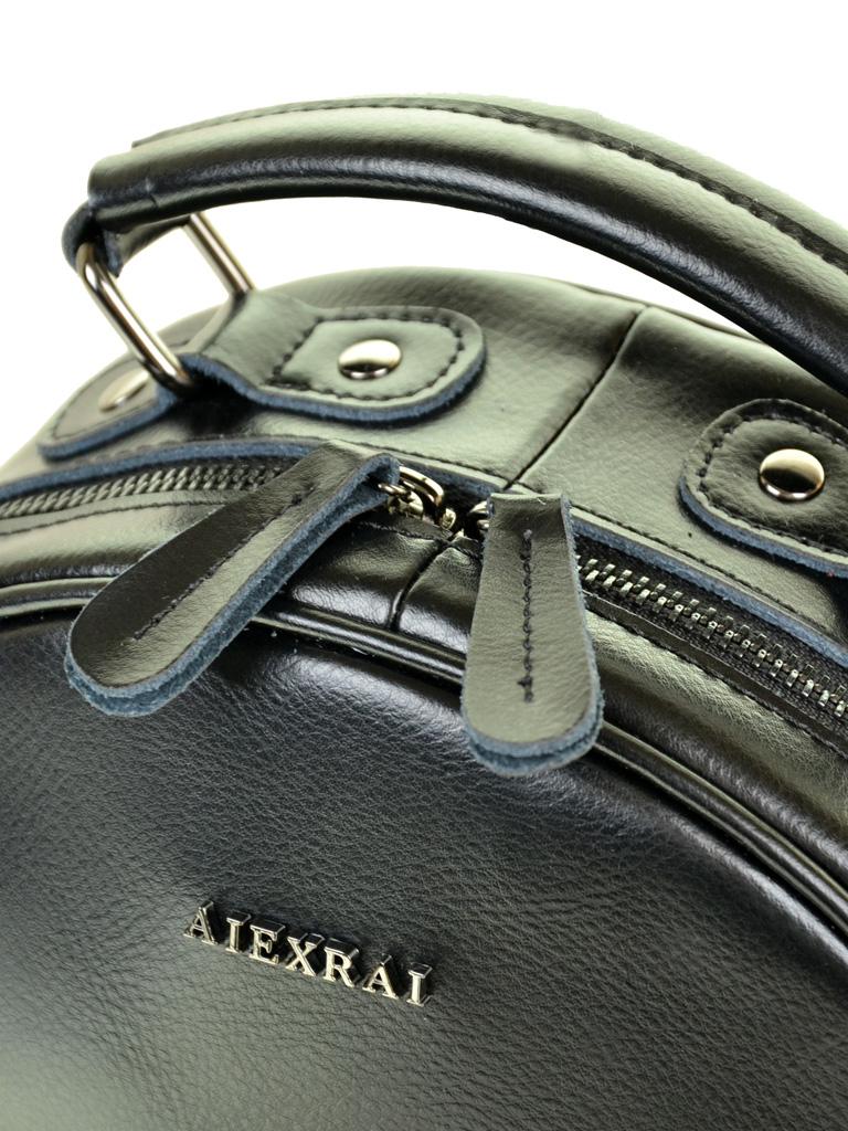 Сумка Женская Рюкзак кожа ALEX RAI 10-04 8715 black - фото 3