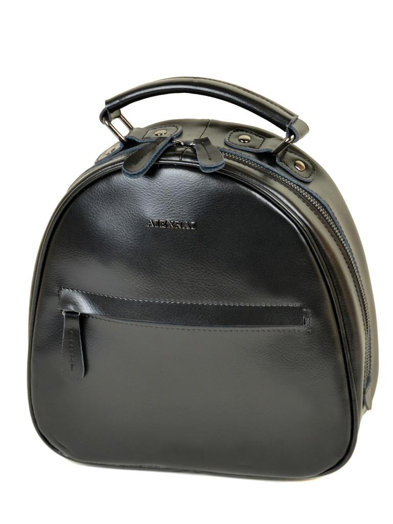 Сумка Женская Рюкзак кожа ALEX RAI 10-04 8715 black