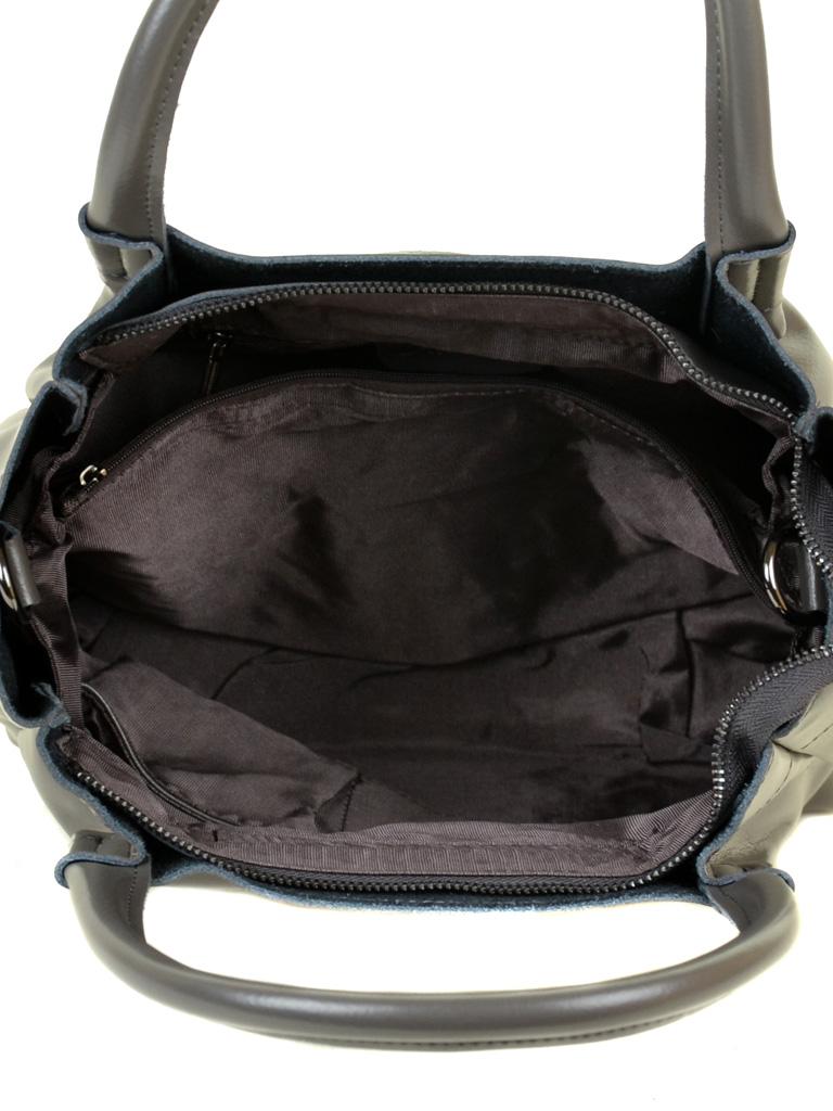 Сумка Женская Классическая кожа ALEX RAI 10-04 8903 grey